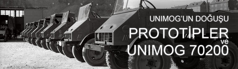 Unimog'un doğuşu: Prototipler ve Unimog 70200